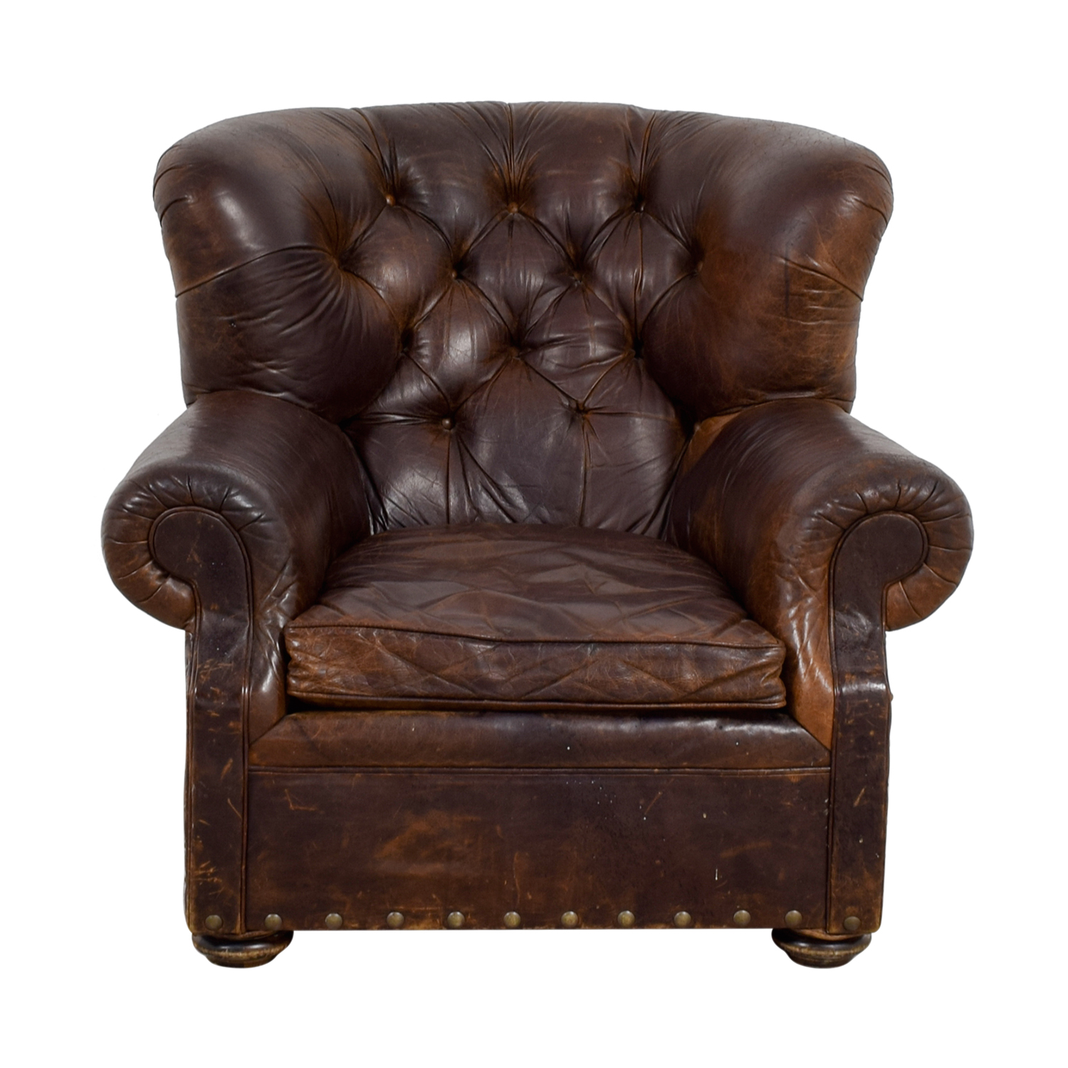 repair leather chair baby with name 90 off natuzzi black swivel