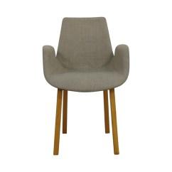Grey Arm Chair Microfiber Club With Ottoman 90 Off Stilnovo Agder Chairs