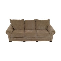 Three Cushion Sofa Free Mission Style Table Plans 90 Off Tan Couch Sofas