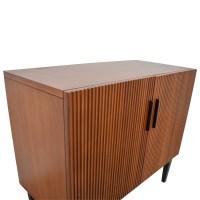 45% OFF - West Elm West Elm Wood Bar Cabinet / Storage