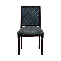 Ballard Designs Upholstered Dining Chairs Chair Covers Yorkshire 88 Off Blue And Gold