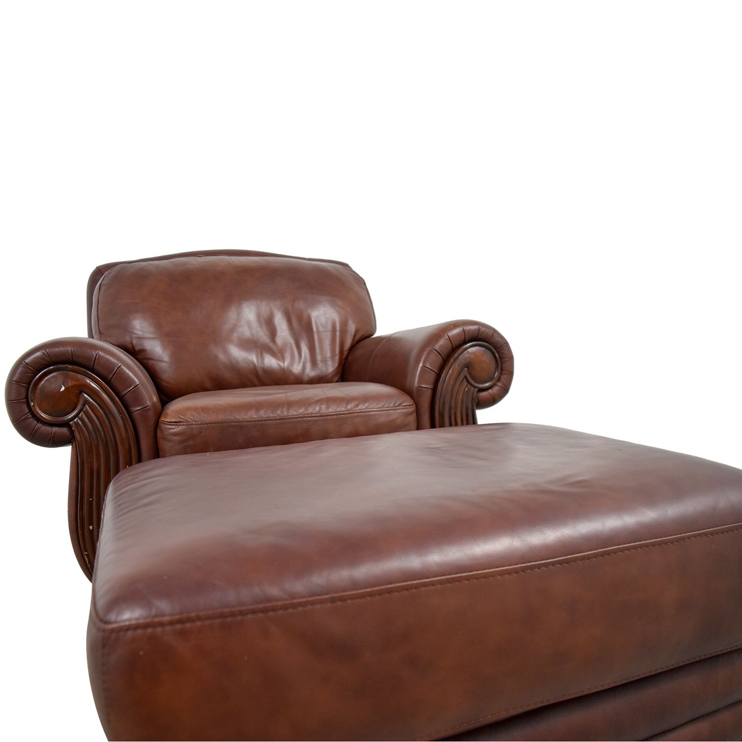 accent chairs to go with brown leather sofa empire sofology 54 off rooms chair and
