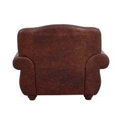Brown Accent Chair With Ottoman Elegant Comfort Covers 54 Off Rooms To Go Leather And