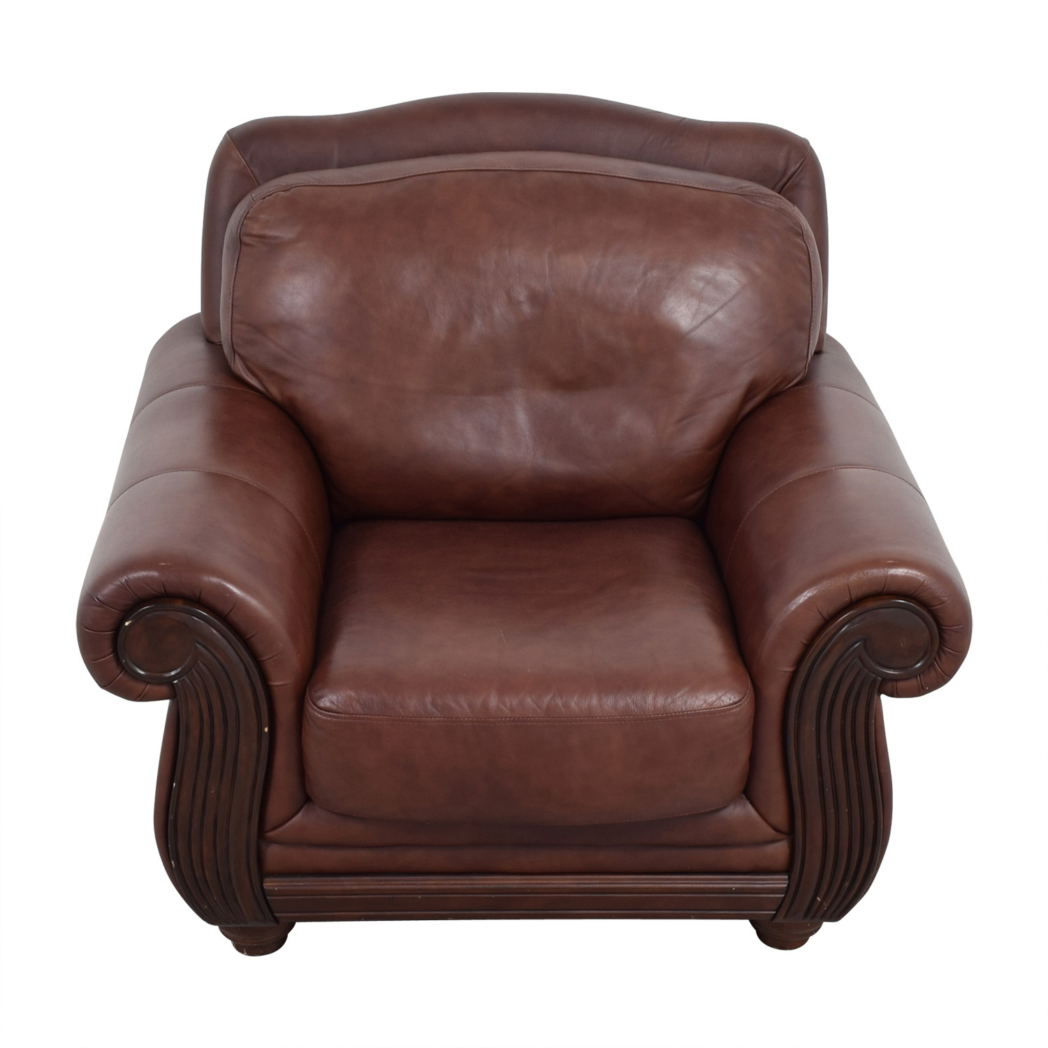 accent chairs to go with brown leather sofa how clean spots on fabric 69 off rooms