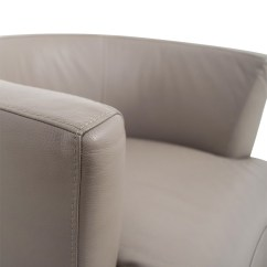 Swivel Chairs For Sale Wicker Dining Nz 84 Off Roche Bobois Tan Leather Chair