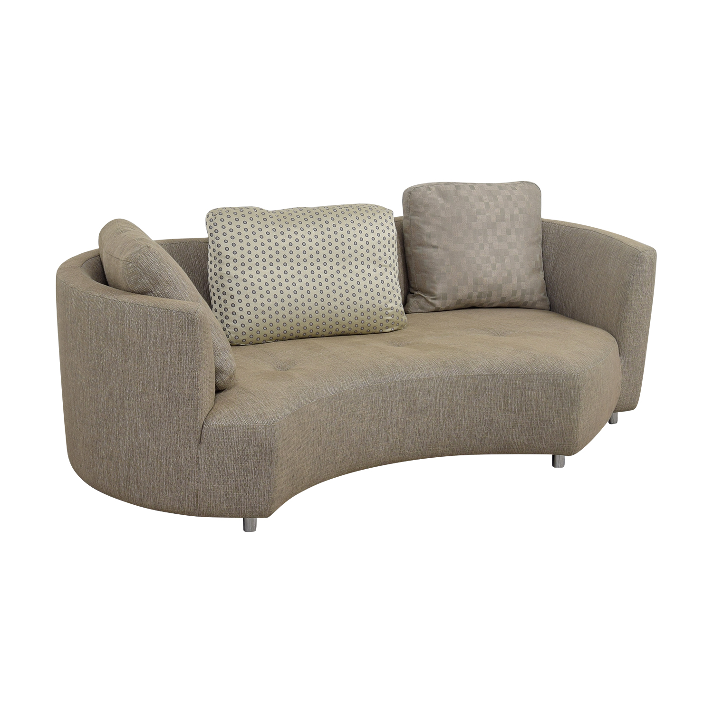 light brown tweed sofa ashley microfiber and loveseat living room west elm thesofa