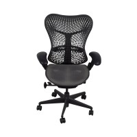 51% OFF - Herman Miller Herman Miller Mirra Black Chair ...