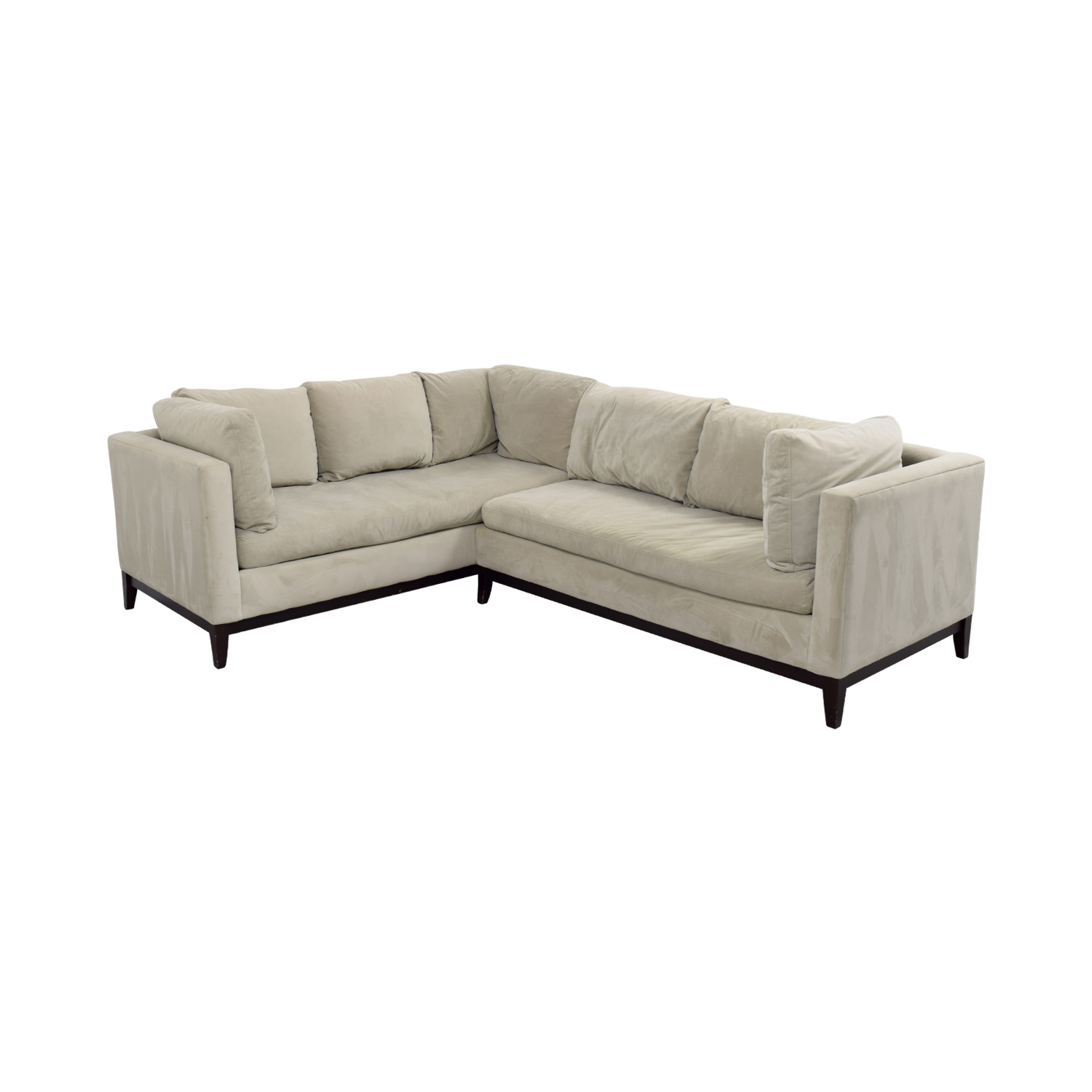 small sectional sofa west elm sofas for sale in houston 81 off beige l shaped