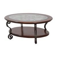 90% OFF - Ashley Furniture Ashley Furniture Oval Glass ...