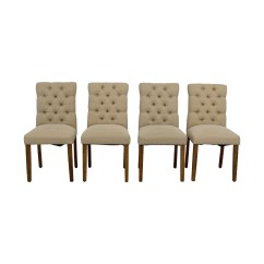 Target Dining Chairs Little Tikes High Chair 67 Off Brookline Threshold Tan Tufted