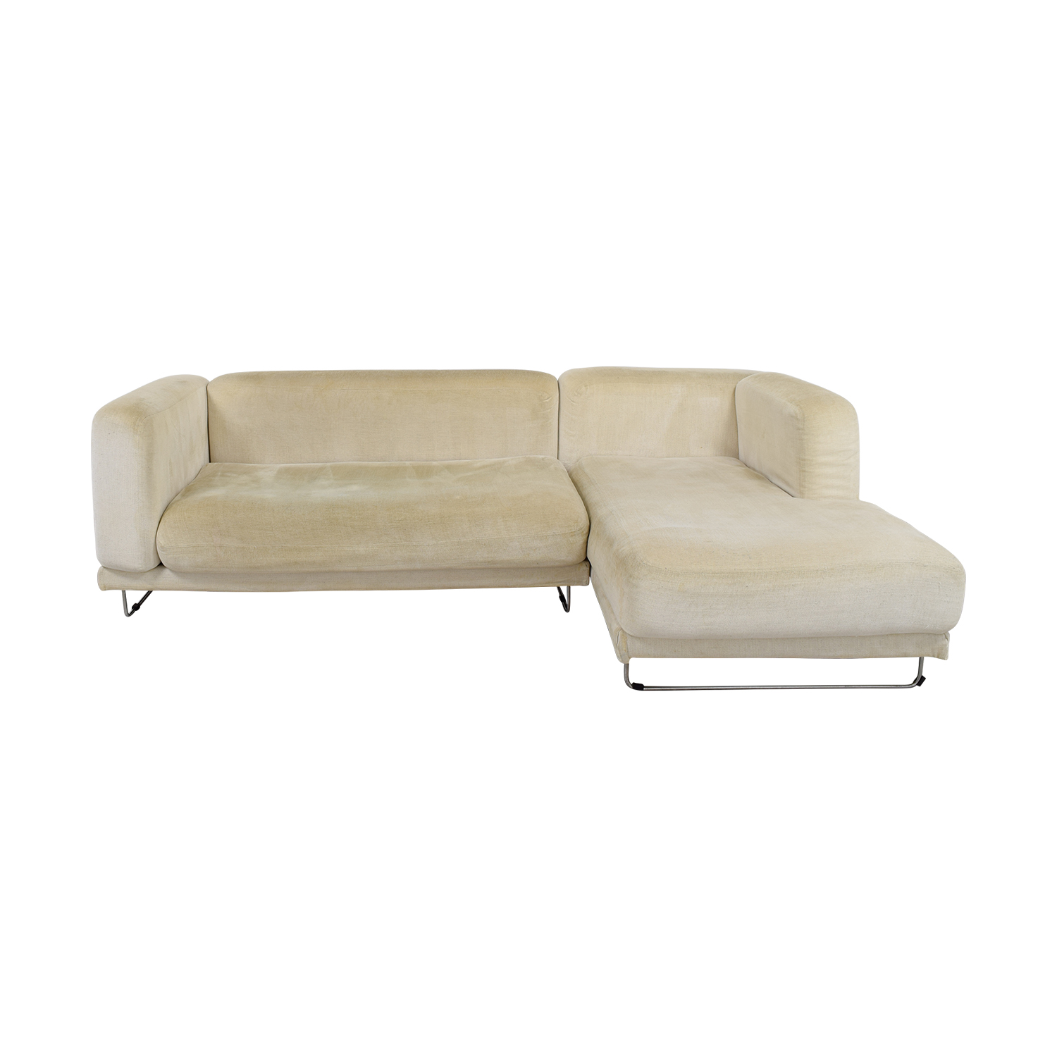 chaise sofa bed ikea office furniture 82 off white sectional sofas