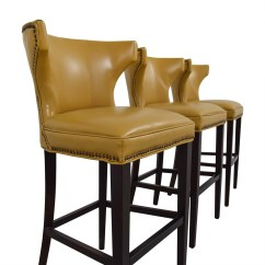 Swivel Chair Mustard Yellow Cheap Beach Chairs Grandin Road Bar Stools 52 Off