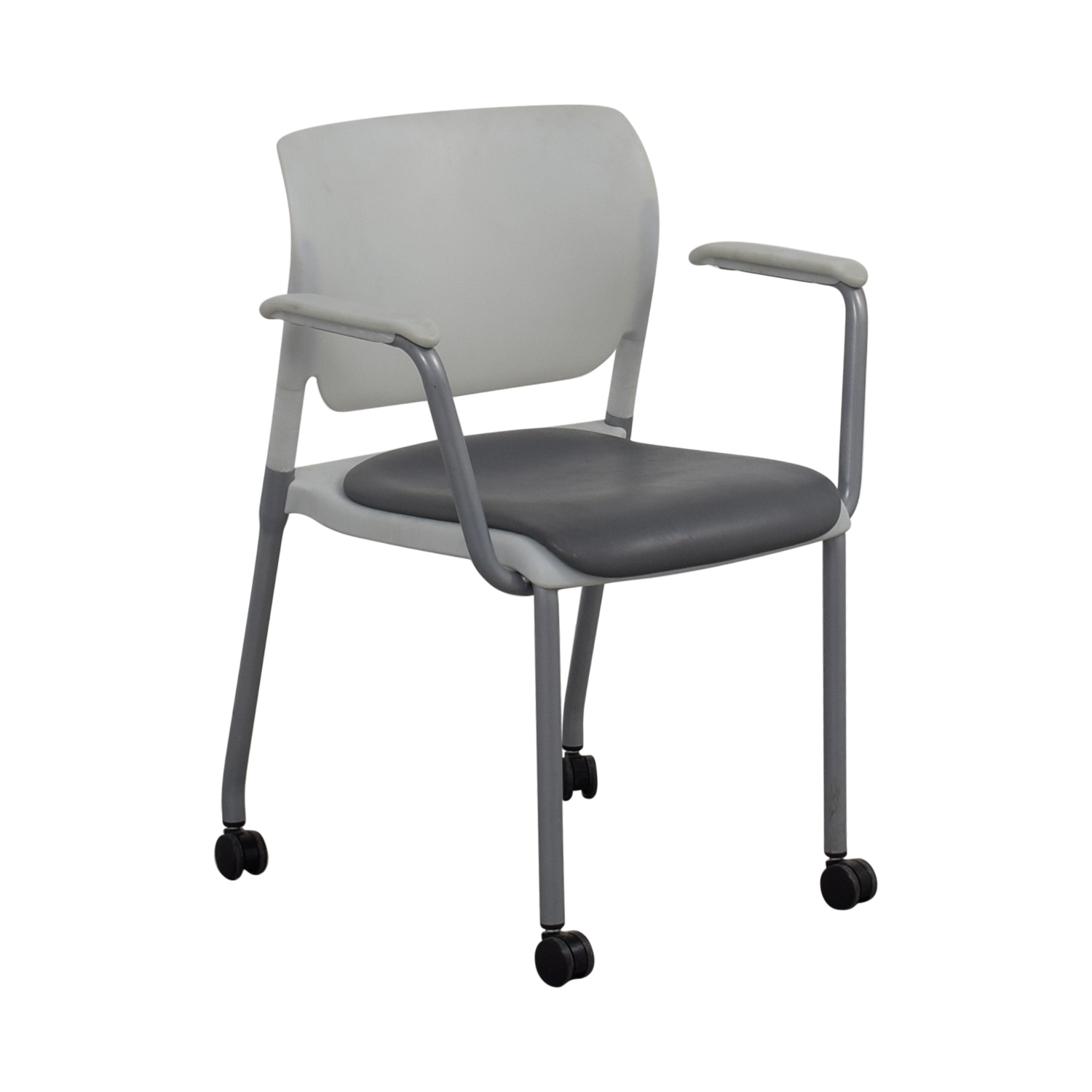 Grey Side Chair 90 Off Sitonit Sitonit White And Grey Side Chair On
