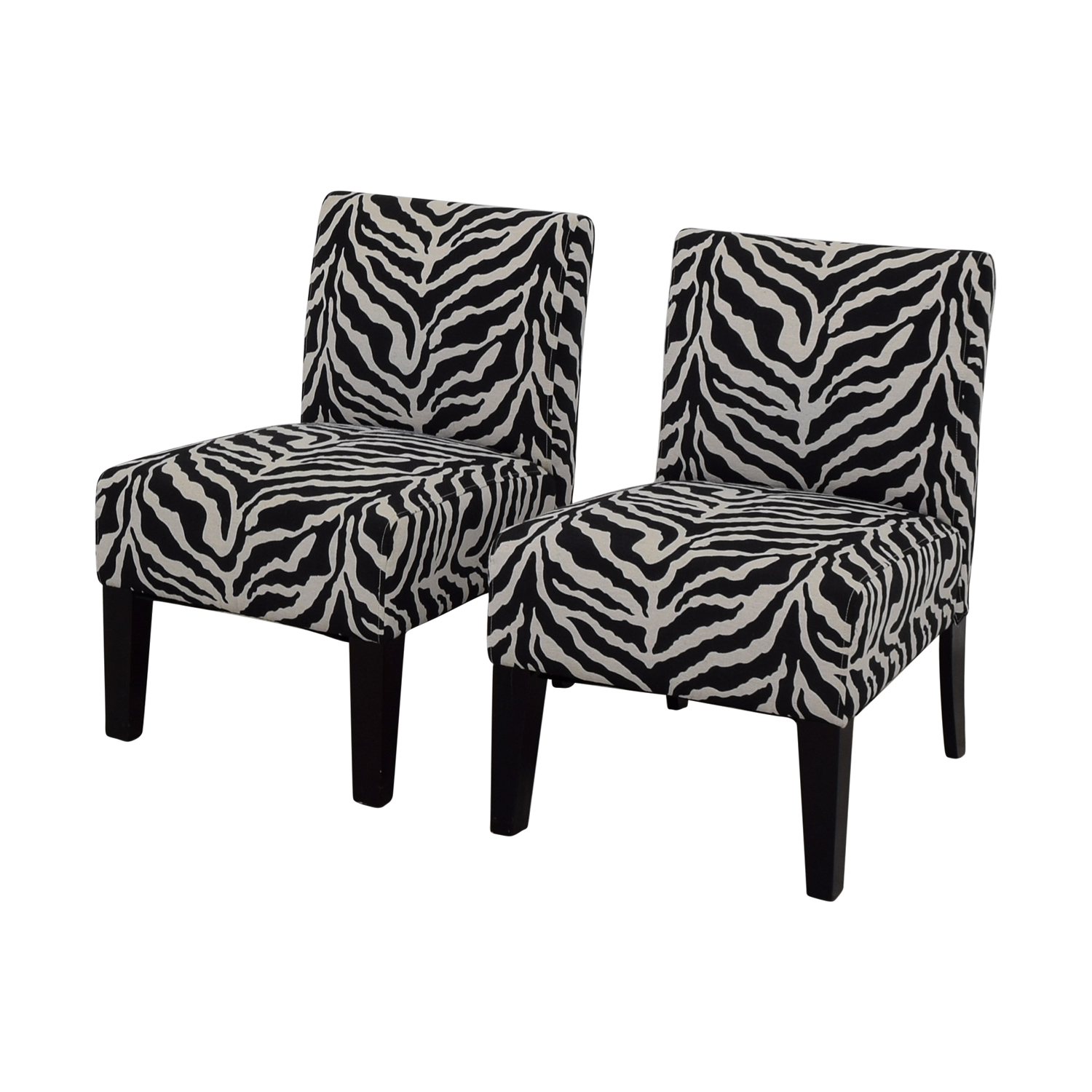 Zebra Accent Chair 80 Off Aberly Aberly Zebra Accent Chairs Chairs