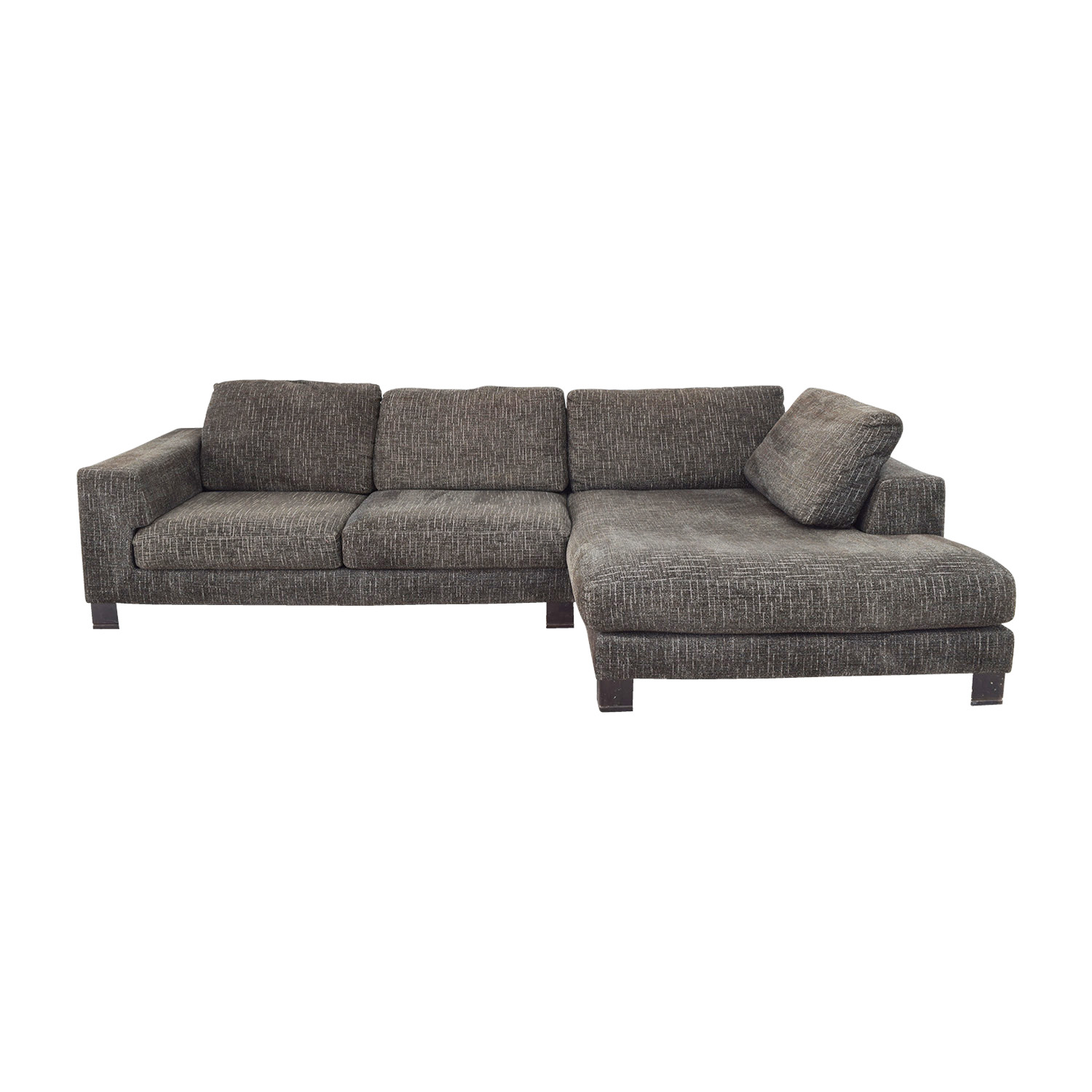 grey tweed sectional sofa sleeper couch cape town don t miss this december deal le