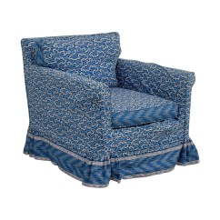 Accent Chair Blue Stool Plans 86 Off Custom Upholstered Chairs