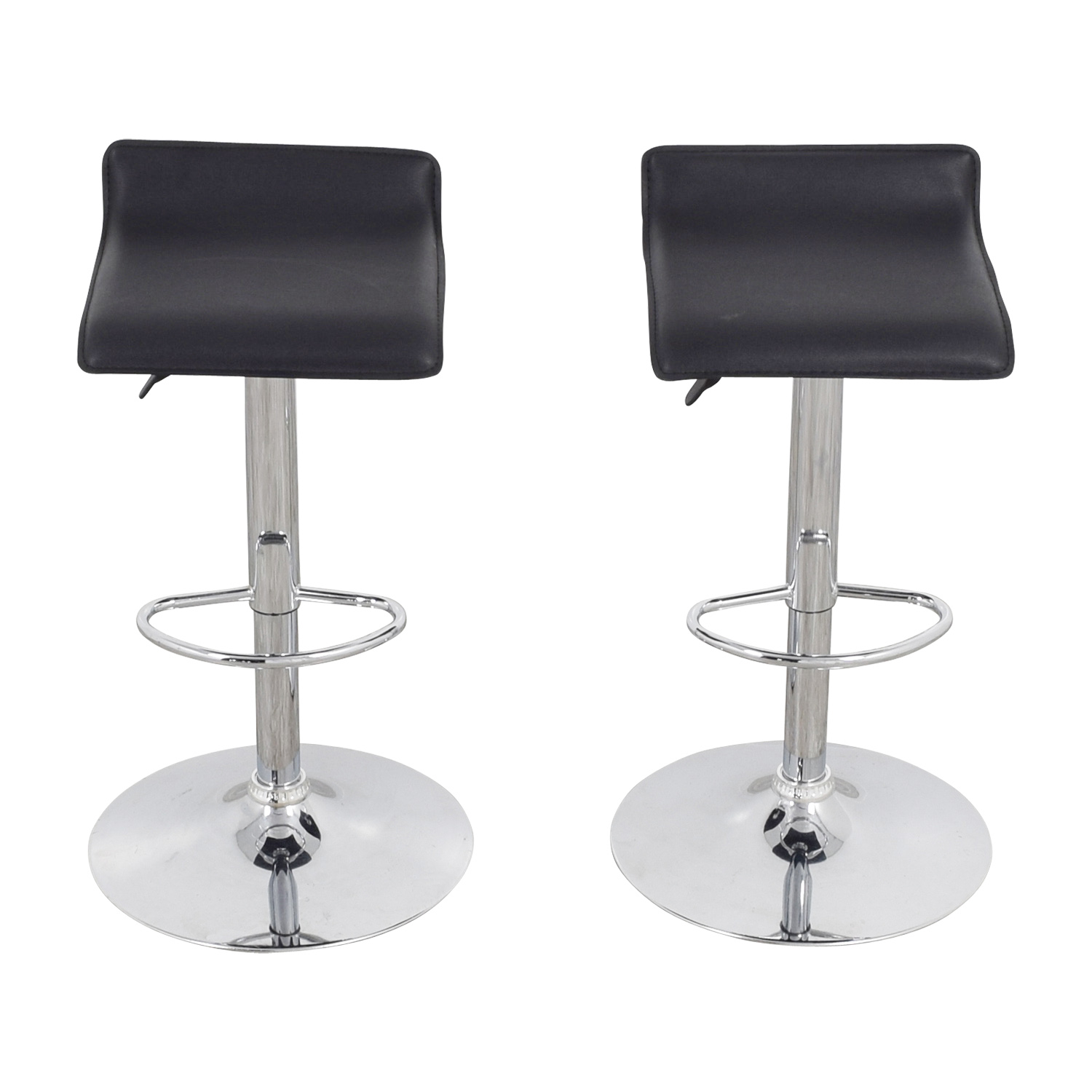 stool chair second hand gas fire pit sets with chairs 87 off black bar stools