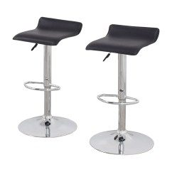 Black Bar Stool Chairs Best Chair For Sciatica 87 Off Stools