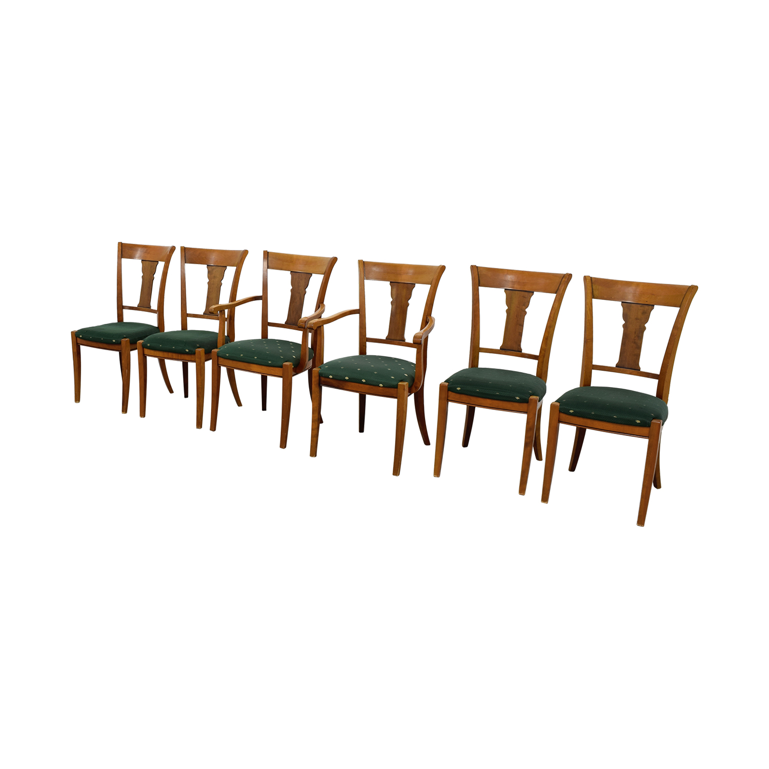 green upholstered dining chairs morris for sale 90 off grange rochambeau