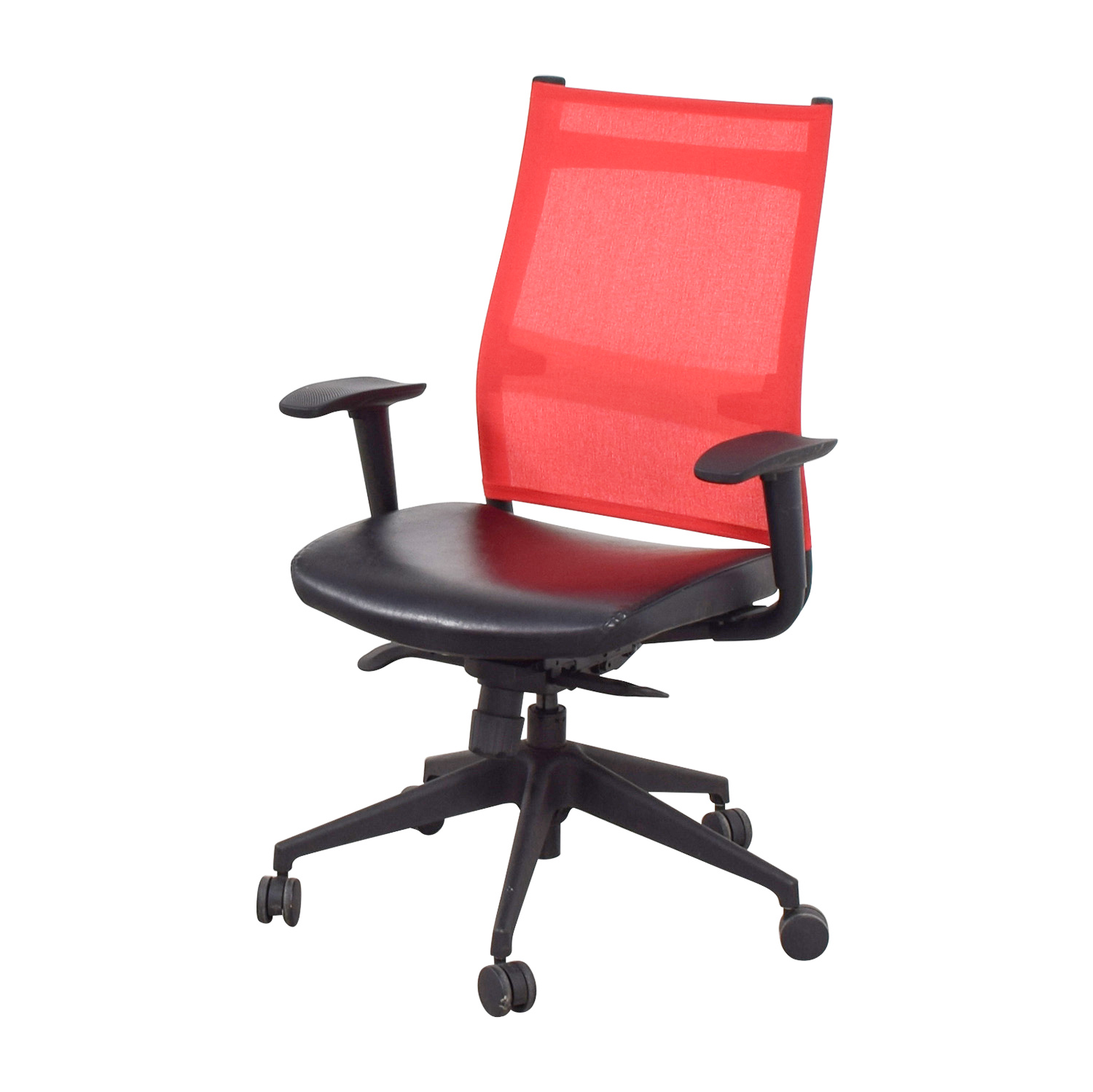 Sit On It Chairs 86 Off Sitonit Sitonit Red Office Chair Chairs