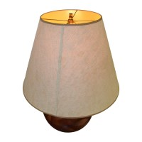 86% OFF - Brown and Tan Lamp / Decor