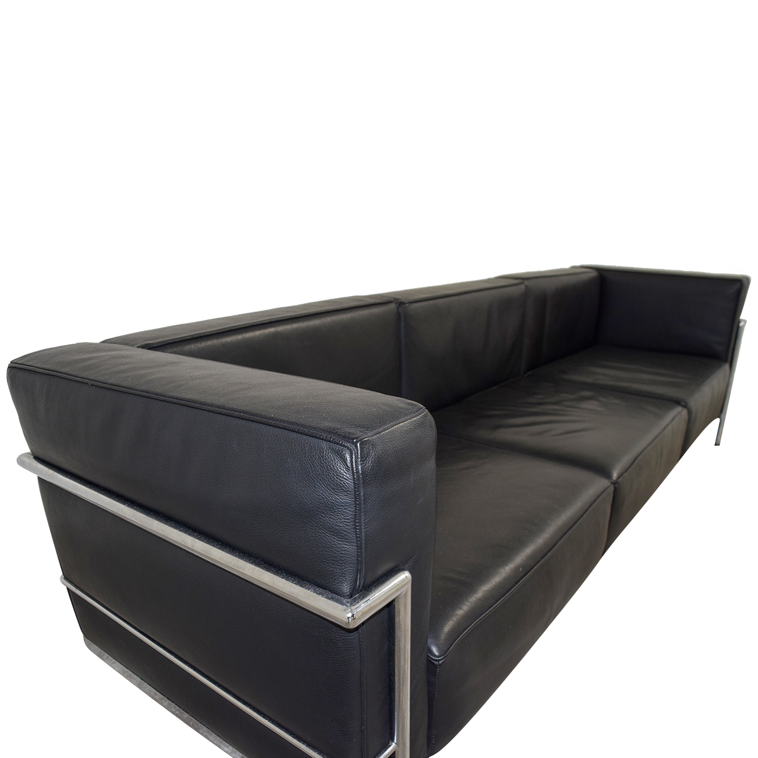 le corbusier sofa replica protector cover uk 60 off l3 black couch sofas