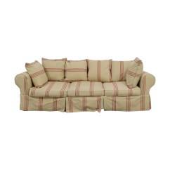 Three Cushion Sofa Under Storage Boxes Slipcover For With Cushions