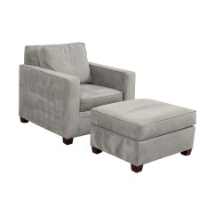 Accent Chairs And Ottomans White Hammock Chair 49 Off West Elm Grey Ottoman