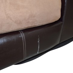 Albany Industries Leather Sofa Sofas Images 89 Off Brown Chaise