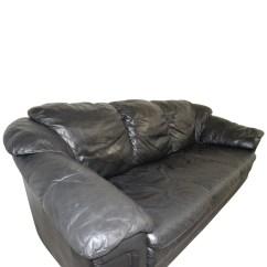Classic Italian Leather Sofa Innovation Unfurl Bed 77 Off Jennifer Black