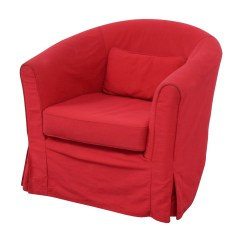 Red Chair Covers For Cheap Bed 82 Off Crate And Barrel Upholstered