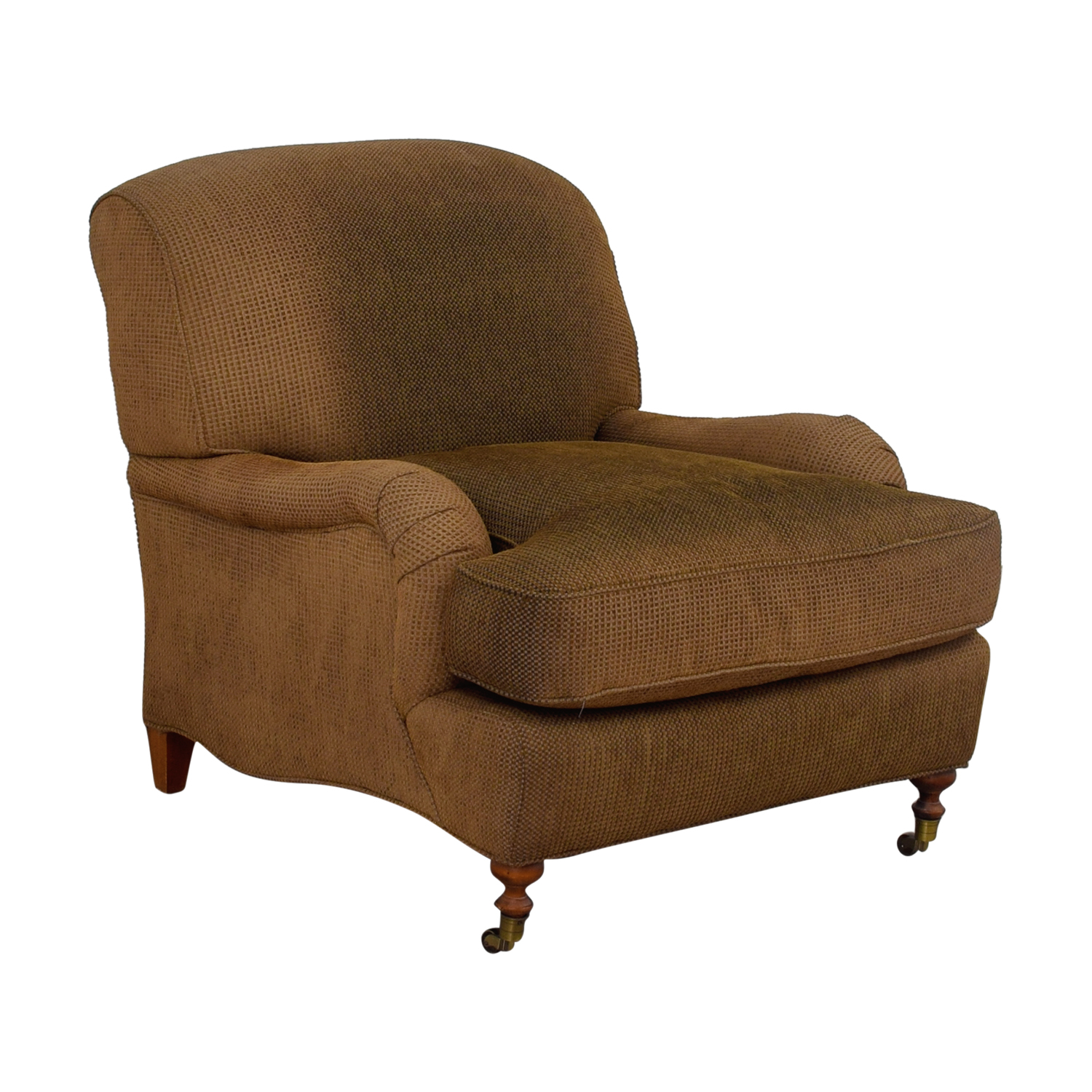 90 OFF  Brown Comfort Accent Chair  Chairs