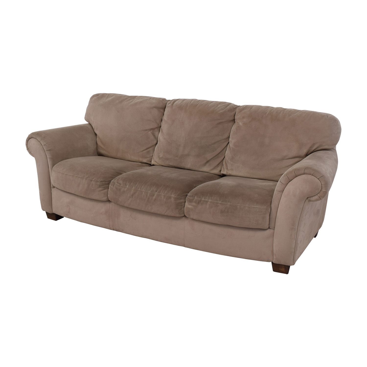 three cushion sofa fast movie trailer 90 off macy 39s tan sofas