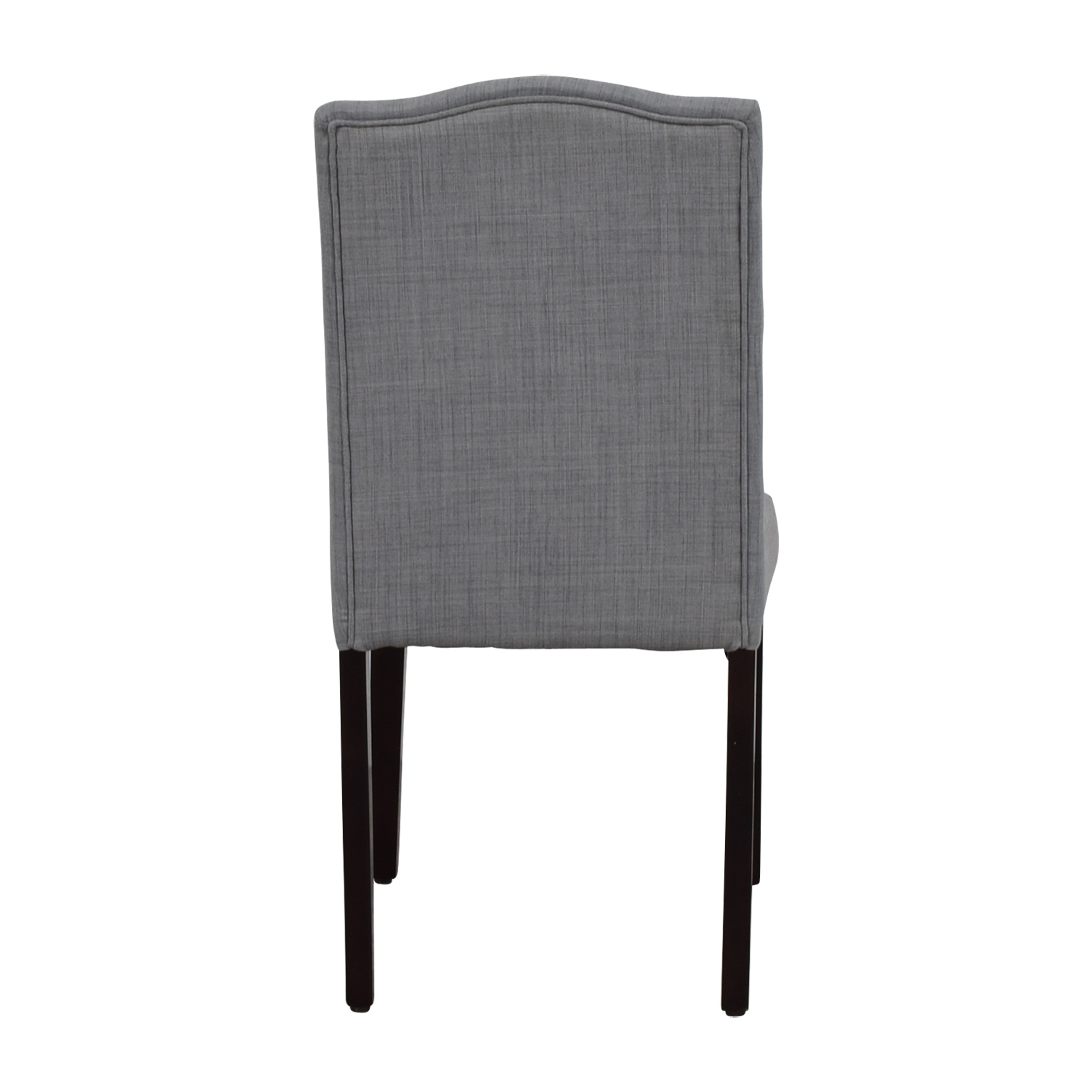 Grey Nailhead Dining Chair Aeronautics Top
