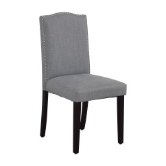 Target Dining Chairs Yellow Banquet Chair Covers 78 Off Threshold Brookline Grey