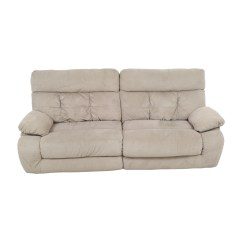 Ashley Sofa Recliners White Microfiber Sectional Recling Signature Design By Austere 2 Seat