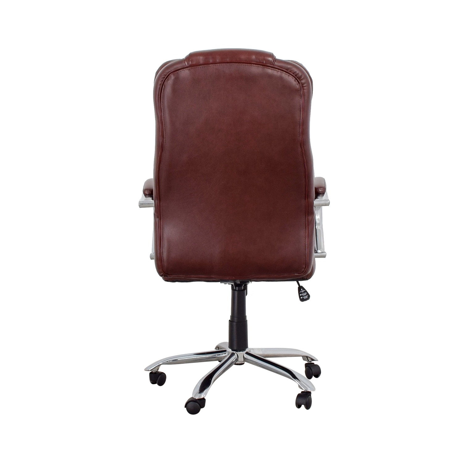 Burgundy Office Chair Chairs Used Chairs For Sale