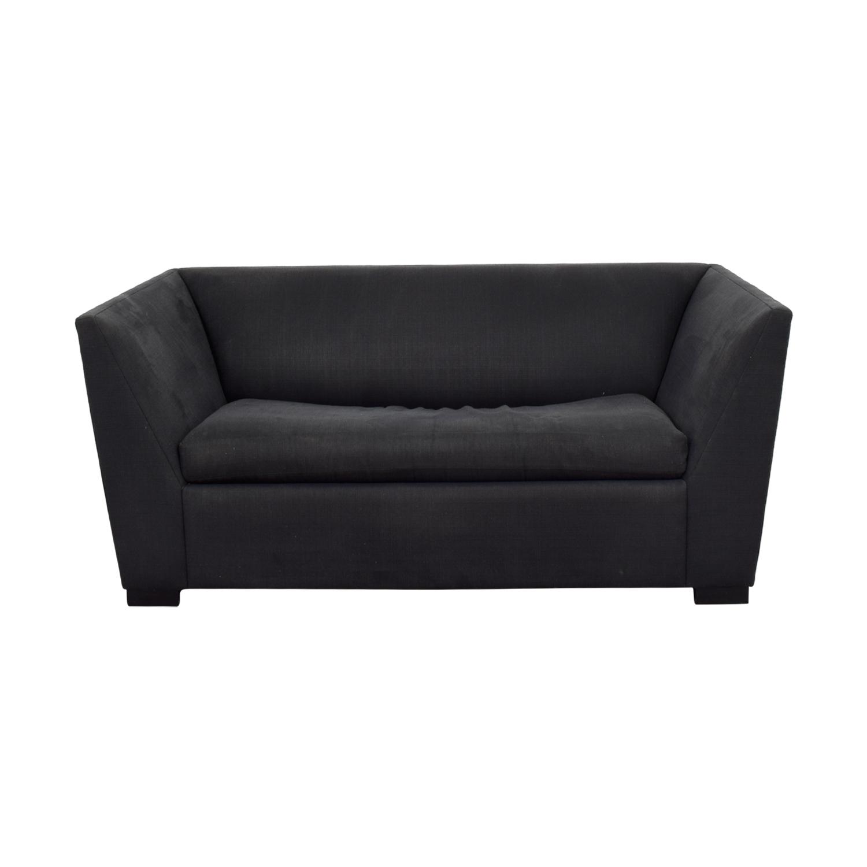 sleeper sofa black tiendas sofas baratas madrid or ivory bonded leather