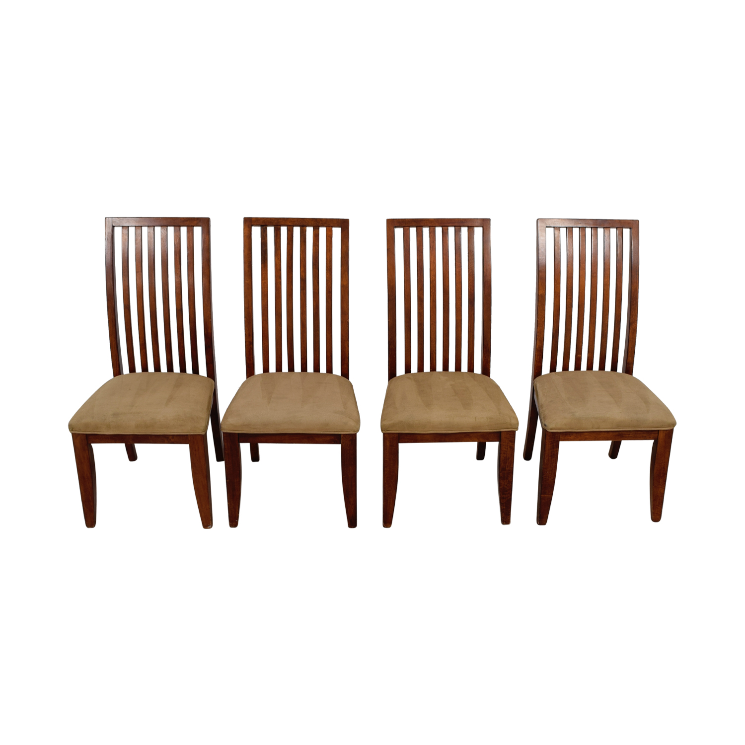 88 OFF  Macys Macys Tan Upholstered Dining Chairs  Chairs