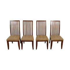 Macys Dining Chairs Outdoor Wood Diy 88 Off Macy 39s Tan Upholstered
