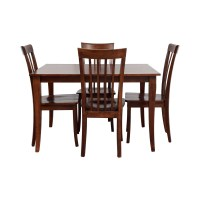 78% OFF - Wood Dining Set / Tables