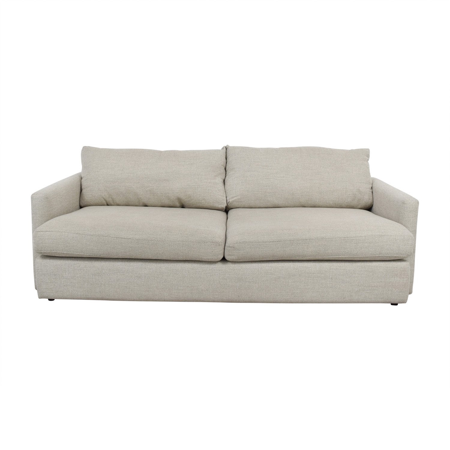 crate and barrel sofa cushion replacement arhaus dune 49 off lounge ii cement