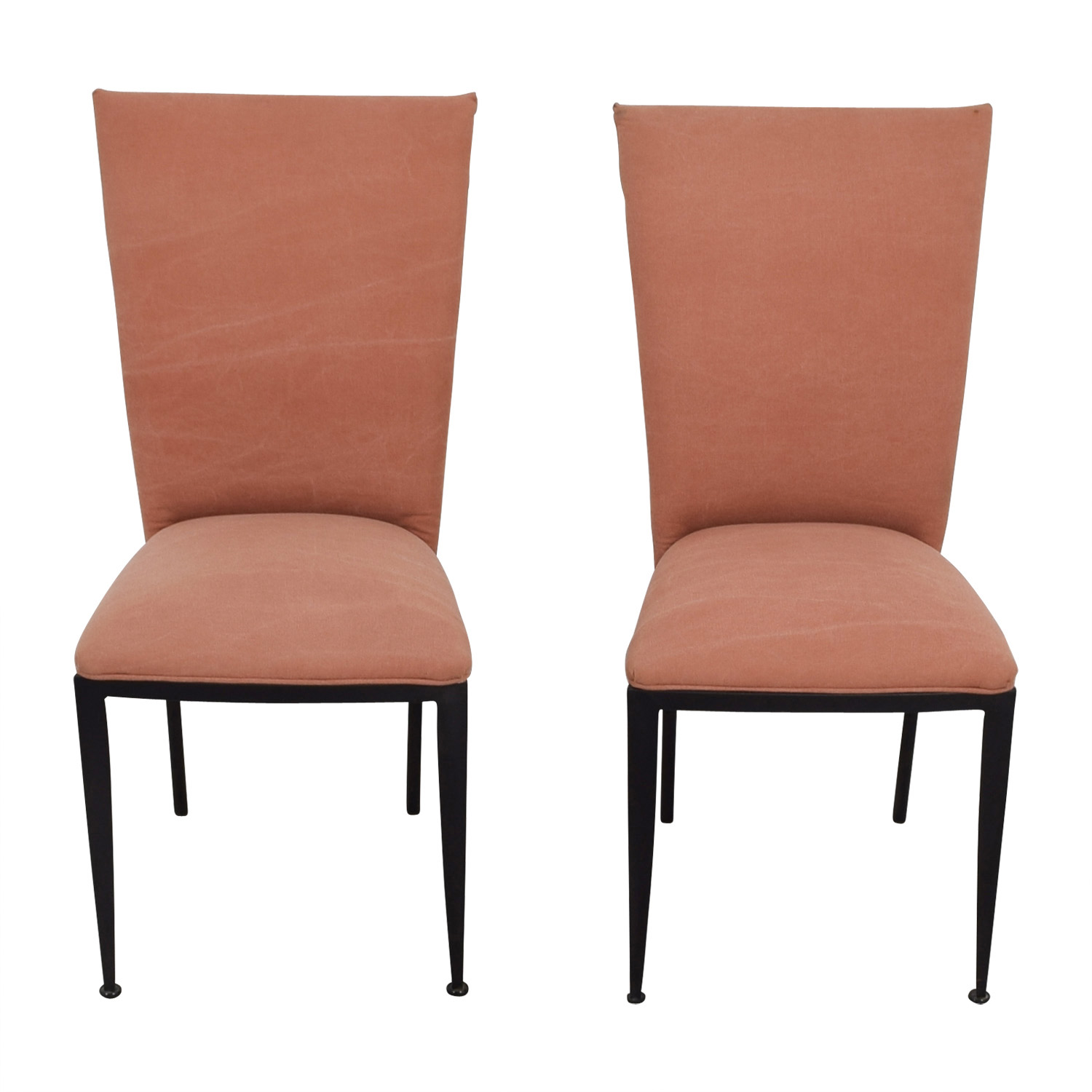 dining chairs at marshalls diy classroom chair covers 77 off marshall fields pink upholstered