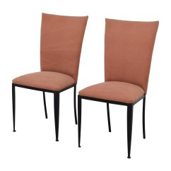 Dining Chairs At Marshalls Chair And A Half Glider 77 Off Marshall Fields Pink Upholstered