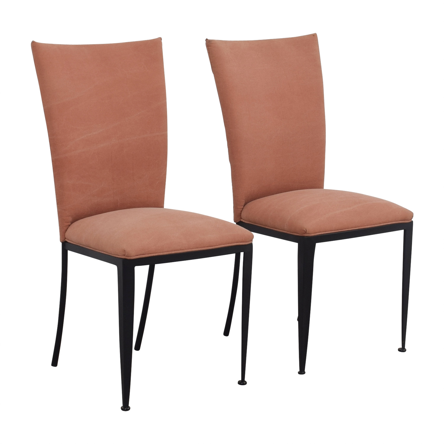dining chairs at marshalls chair cover hire north east england 77 off marshall fields pink upholstered