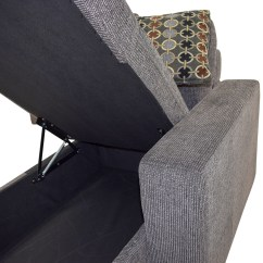 Grey Tweed Sectional Sofa Sure Fit Quilted Velvet Deluxe Pet Throw Cover 45 Off Twin To Full Sofabed With