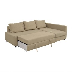 Ikea Sofa Sleeper Sectional Grey Leather Sofas Next 79 Off Friheten Tan