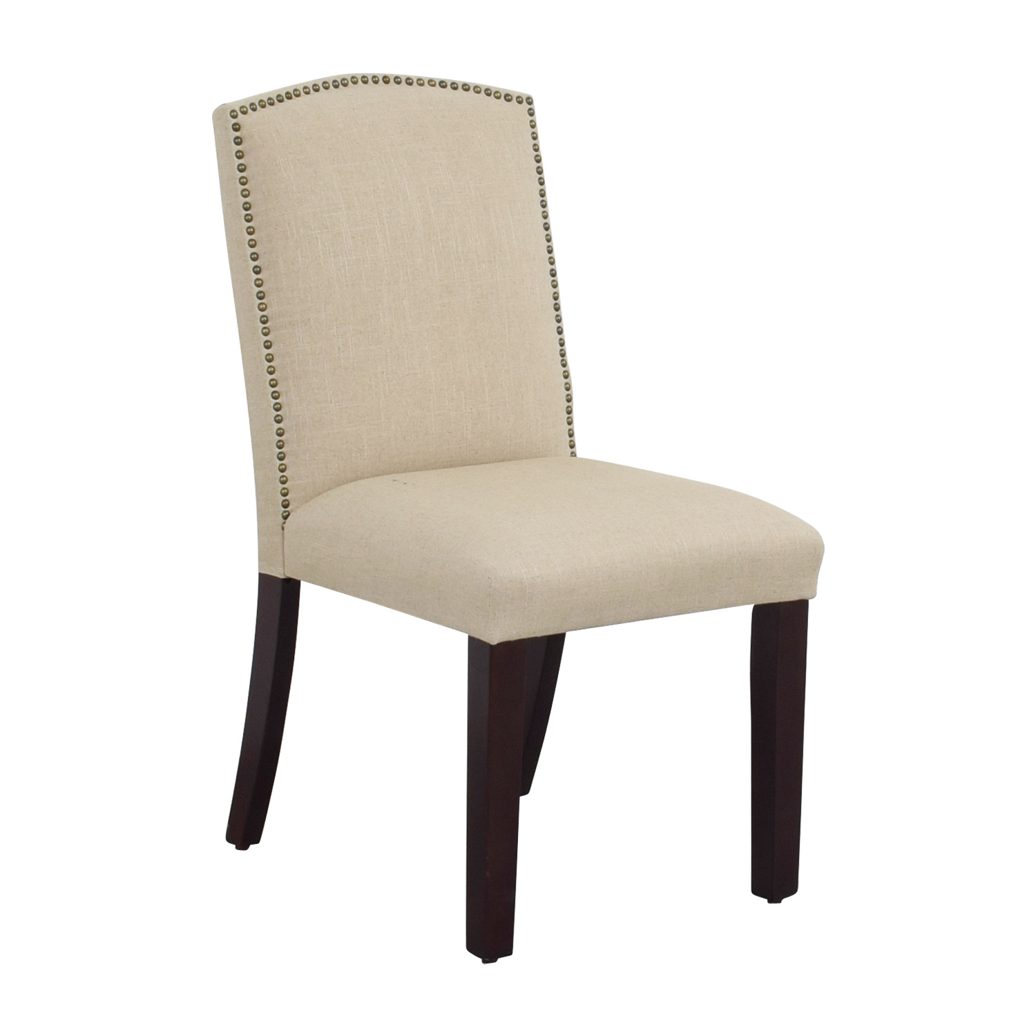 beige dining chairs upholstered set of 4 90 off world market abbie linen