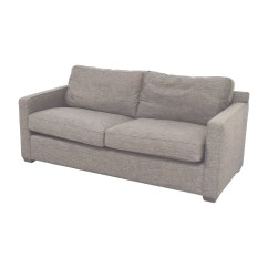 Crate And Barrel Sofa Cushion Replacement Best Company Usa 64 Off Davis Grey Two