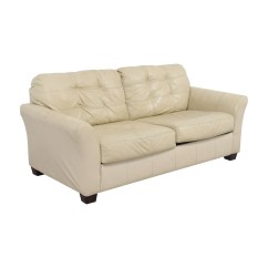 Sofa Seconds Best Sleeper Sofas Toronto 90 Off Ashley Furniture Tufted Cream